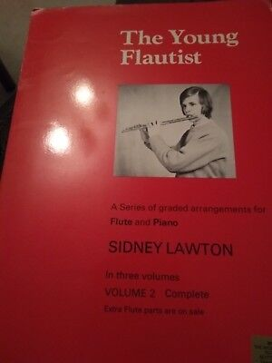 The Young Flautist, for Flute and Piano.  Sidney Lawton