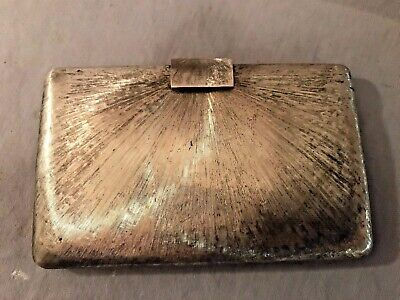 Art Deco Tiffany & Co Sterling Silver 925  Card Case Personal Case Italy No Res