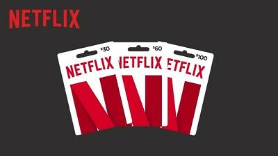 DEAL! - 50% OFF - 60$ USD Netflix GIFT CARD - US & Worldwide - Email