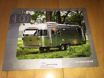 2018 AIRSTREAM SPORT Color Catalog Brochure 22FB 16RB Camper