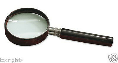 Lupa aro plástico 10x, 50 mm/Handle magnifying glass 10x 50mm