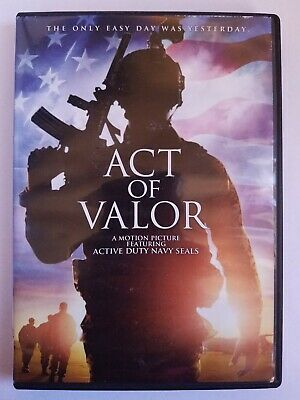 Act Of Valor, 2012, R-Rated, Action Adventure Drama, DVD Movie, Like New