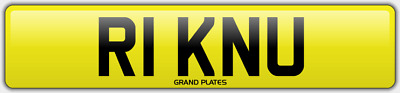 Ricks 5 Digit Number Plate R1 Knu Cherished Car Reg Rick N U ? No Added Fees Rix