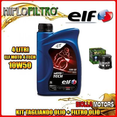 KIT TAGLIANDO 4LT OLIO ELF MOTO TECH 10W50 TRIUMPH 1050 Speed Triple 1050CC 2006