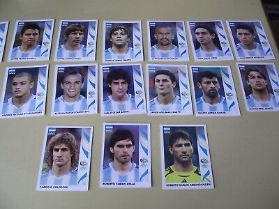 Panini Brazil WC 2006 set of players ARGENTINA stickers