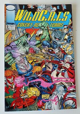 WIldcats - Covert Action Teams - Issue # 3 - Image Comics - 1992 - NM/VF (948)