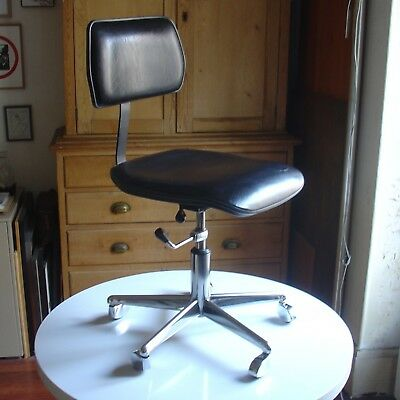 Metal Roues Années 70 4 360° 60 Fauteuil Tissus Design Chromee erCdxBoW