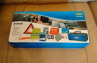 UK Car Travel Abroad kit - European car kit - Driving in Euro EU / Uk New