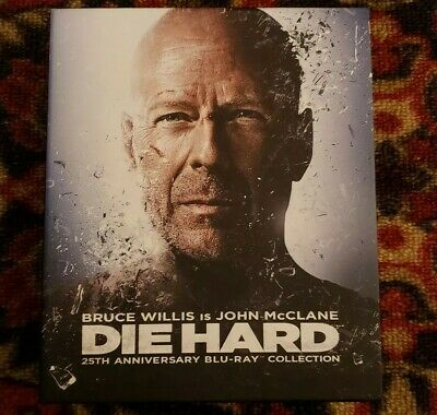 Die Hard: 25th Anniversary Collection Blu-ray Excellent Condition