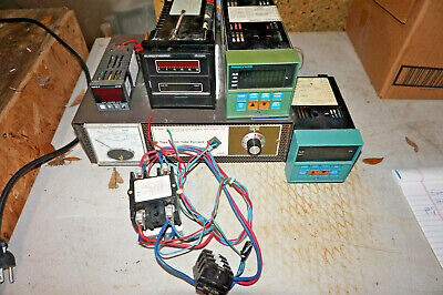 LOT of Furnace/Oven Temperature Controllers Relays  Honeywell, Eurotherm, West