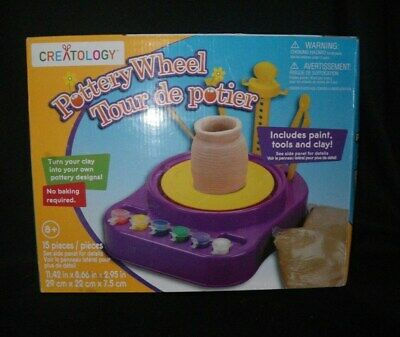 POTTERY WHEEL for Kids Motorized Educational Toy Made By Creatology NEW