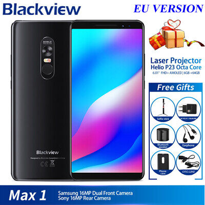 Blackview Max 1 Android 8.1 Projector Home Theater 6+64G 4G Smartphone 4680mAh