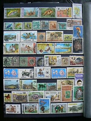Collection Of Tanzania Stamps