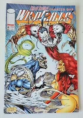 WIldcats - Covert Action Teams - Issue # 6 - Image Comics - 1993 - NM/VF (951)