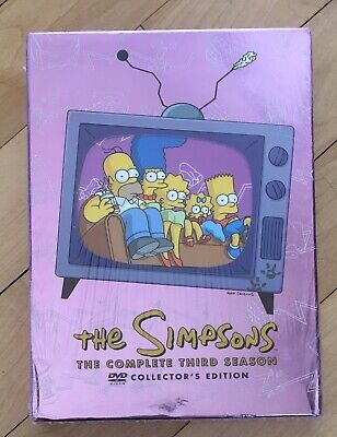 The Simpsons: The Complete Third Season Season 3 DVD Brand New, Complete Sealed