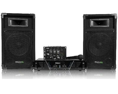 Pack sono 480W + table de mixage + 2  HP + mic