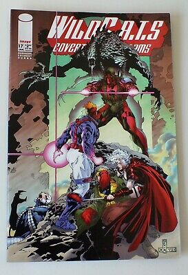WIldcats - Covert Action Teams - Issue # 17 - Image Comics - 1995 - NM/VF (959)