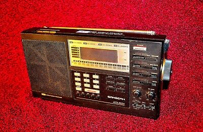 Sangean ATS-803A PLL Synthesized World Band Receiver Radio