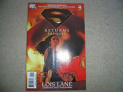 Superman Returns Prequel No 4  Near Mint  DC Comics 2006-Lois Lane