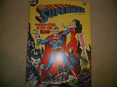 Superman No 11  London Editions Mags Nov 1988- DC Comics with Wonder Woman