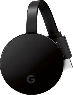 Chromecast Ultra NC2-6A5-D by Google 4K HDR Capable - Black NEW!!