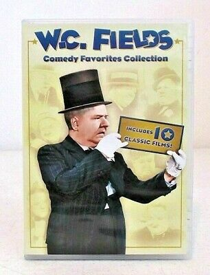 W.C. Fields Comedy Favorites Collection (DVD, 2013, 3-Disc Set) 10 Classic Films