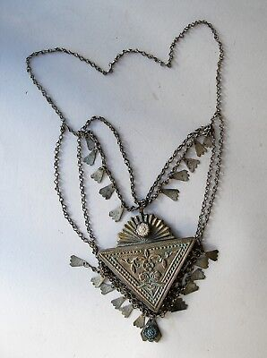 Antique. Low Content Silver Musk Jewelry That is Used Against Evil Spirits.