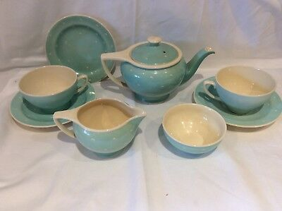 Susie Cooper Tea For Two Crested Moon Pattern