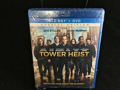 Tower Heist (Blu-ray/DVD, 2012, 2-Disc Set, Special Edition Includes Digital Co…