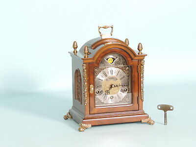 Warmink 8 day Westminster,Whittington,St.Michael,Moonphase,8 Bars,Bracket Clock.
