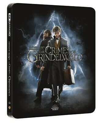 Fantastic Beasts: The Crimes of Grindelwald (STEELBOOK 4K + 3D + Blu-ray + Ext)