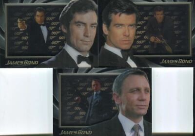 James Bond Núm 50 Anniversary Serie Shadowbox Chase Carta Juego S4a Través S6
