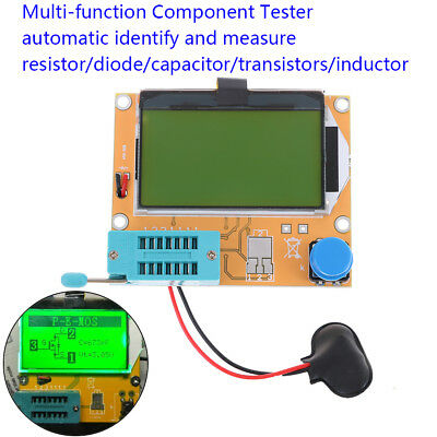 All-in-1 component tester transistor diode capacitor resistor inductor meter RDR