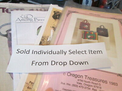 Tote Bag/Box/Covers Uncut Sewing Pattern-Various Designers-Your Choice