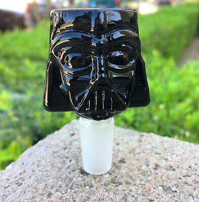 18mm Star Wars Darth Vader Glass Bowl - Black