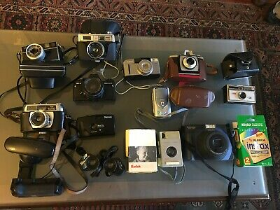 Camera Collection Job-Lot And Accessories