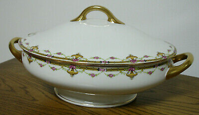 ***  LIMOGES *** Ovale Suppen - Terrine *** TOP ***