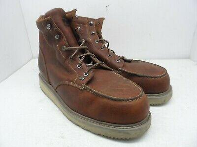 01d0872ab7f TIMBERLAND PRO Men s BARSTOW WEDGE Soft Toe WORK BOOTS 88559 Brown 15M