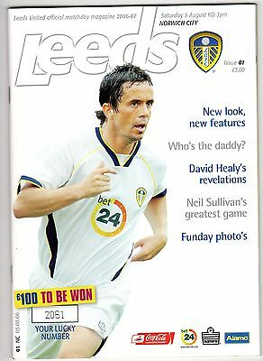 LEEDS UNITED v NORWICH CITY AUGUST 2006