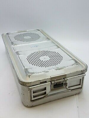 """AESCULAP 22-1/2"""" x 11"""" x 5"""" Sterile Container System Tray 78532 Tuttlingen Used"""
