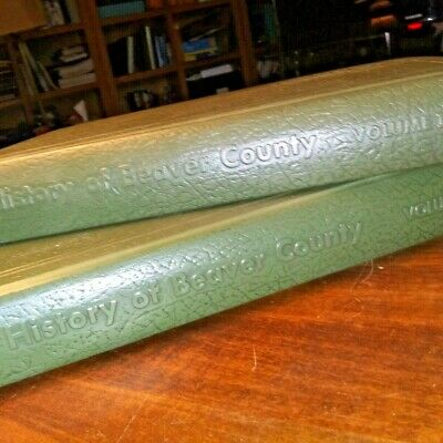 History of Beaver County (OK) Vol1 and Vol2  1970