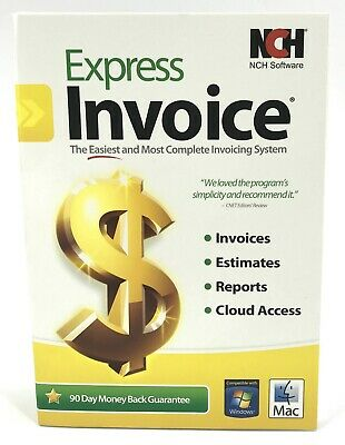 NCH EXPRESS INVOICE Professional Invoicing Software (PC/Mac