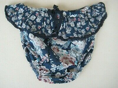 Tocoto Vintage Baby Ruffle Flowers Bloomers/Culotte 18M BNWT