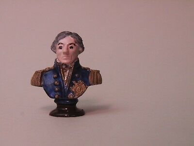 Dolls House 1/12 Hand Painted Phoenix Metal Bust of Lord Nelson