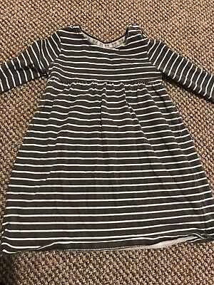 F&F Girls Long Sleeve Dress - 18-24 Months