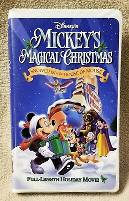 Mickeys Magical Christmas.Disney Mickey S Magical Christmas Snowed In At The House Of Mouse Vhs Video Tape