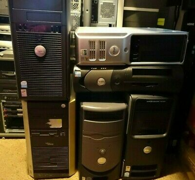 1x Cheap Working | SFF / Mini Tower Single Core | No HDD PC Computer Pentium 4