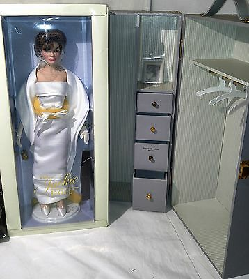 Franklin Mint The Jackie Kennedy Doll w/Travel Trunk (6) Outfits COA NRFB LOT