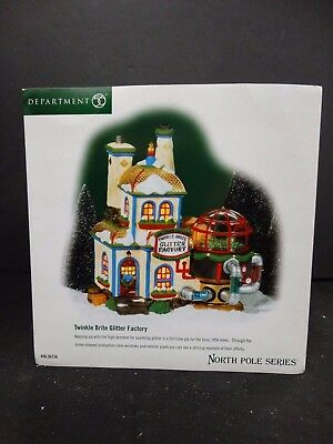 Department 56 Twinkle Brite Tree Factory #6000612 Free Shipping