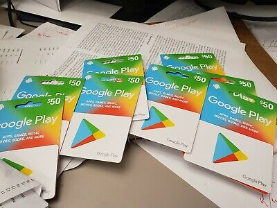 Google Play Gift Cards - 2*$50  or 1*$100 in less price!!